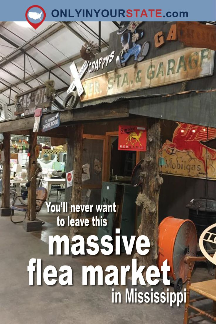 Travel | Mississippi | Flea Markets | Shopping | Markets | Attractions | Stores | Places To Visit