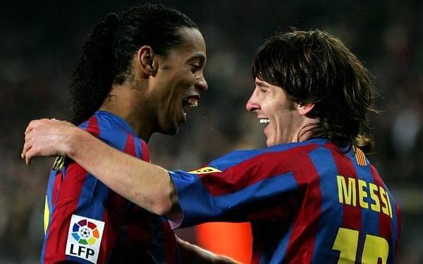 Ronaldinho: Messi es hoy el mejor del mundo
