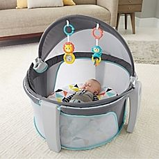 image of Fisher-Price® Windmill On-the-Go Baby Dome