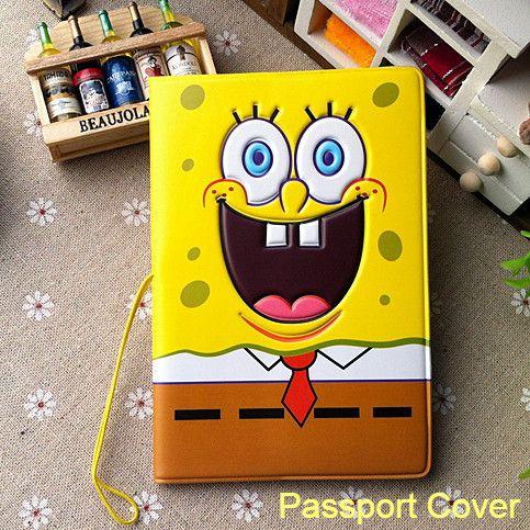 SpongeBob SquarePants 3D stereoscopic passport cover - Buy this stuff here: https://www.bikinibottomstore.com/spongebob-squarepants-3d-stereoscopic-passport-cover/ -   #spongebob #patrick #squidward #merchandise #goods #bikinibottom #party #balloon #home #interior #bedroom #bathroom #dolls #toys #aquarium #ornament #travel #cartoon #anime #hero #onlineshop #products #supplier