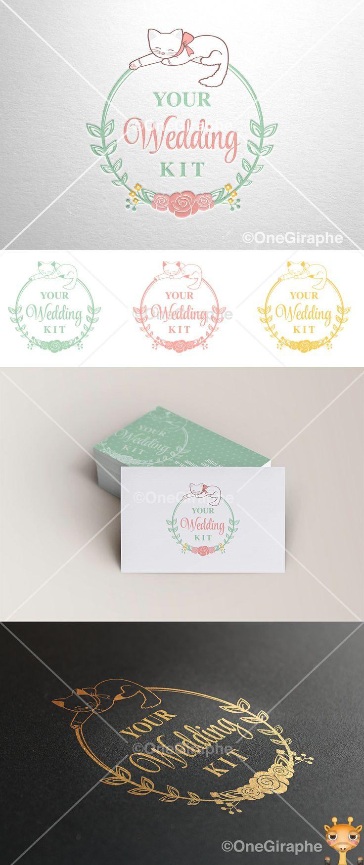 www.One-Giraphe.com #wedding #gold #kitty #cat #logo #logodesign #cute #graphic #design #designer #portfolio #behance #logopond #brandstack #sweet #logodesign #designer #brand #brandidentity #brandstack #logo #logodesign #graphicdesign #logopond #behance #craft #paper #letterpress #pattern #badge #portfolio #flower
