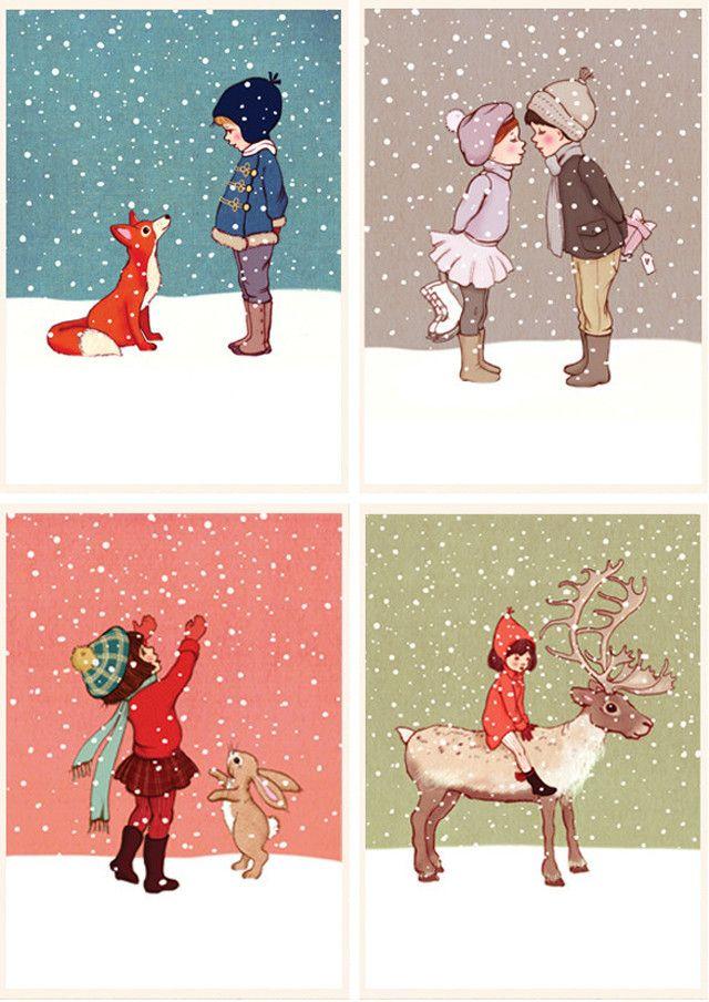 design: @Christabelle Lavarro & Boo seller: @Maria Salas Louise   #101kerstkaartencountdown #christmascard #postcard #holidaycards #dutchdesign #kerstkaart #illustration