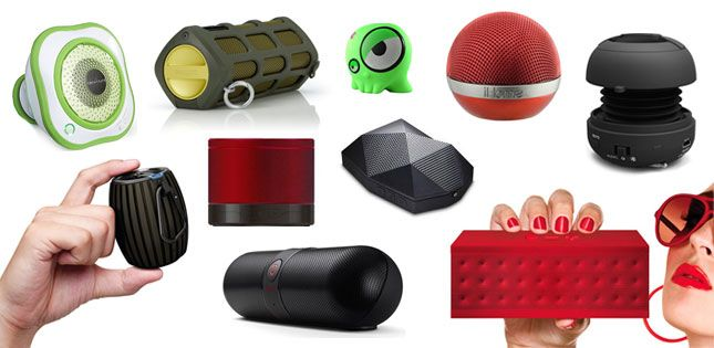 Want to take that dance party on the road? Here are 10 wireless, portable speakers for rocking out.