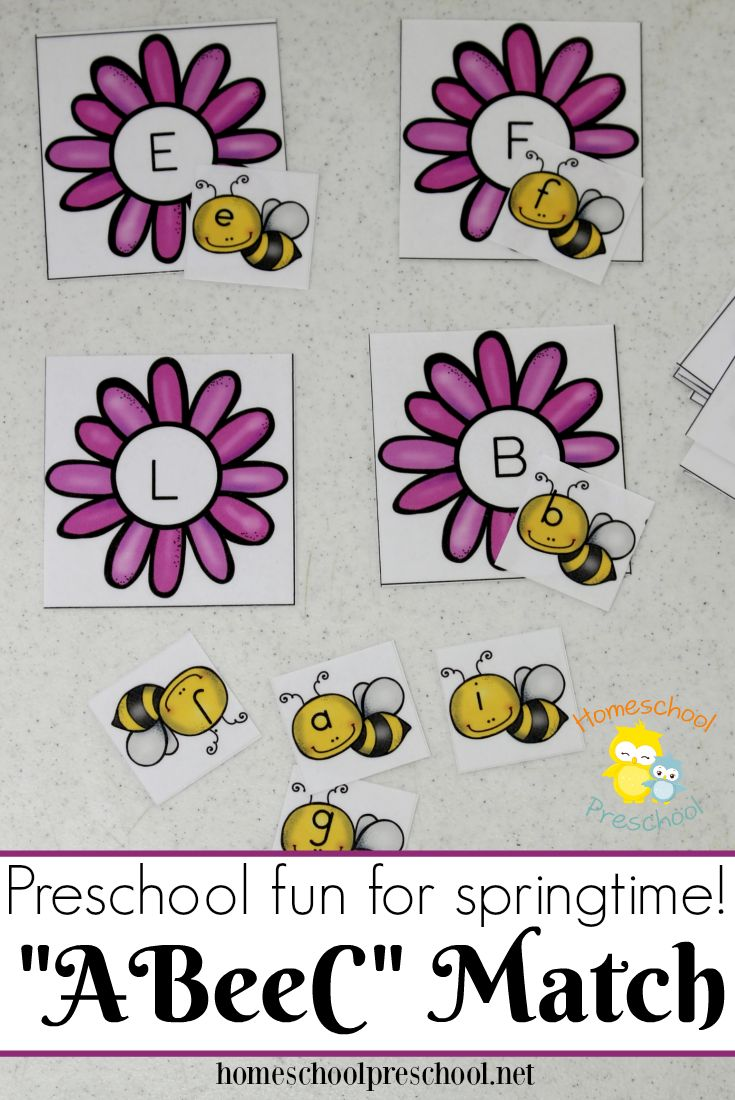 71 Best Bugs Insects Unit Images On Pinterest Baby Books Class What Is Electric Circuit Ency123 Learn Create Have Fun Bee Themed Letter Matching Games For Preschoolers