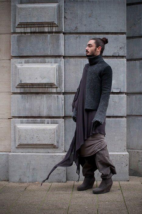 Rick Owens    macabre   high fashion   goth   editorial   dark fashion