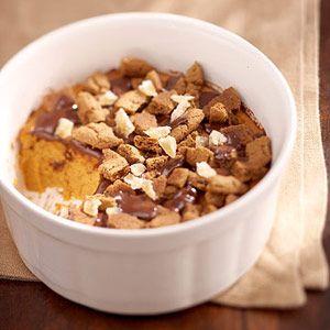 DIABETIC DESSERTS RECIPES IMAGES | Ginger-Chocolate Crunch Pumpkin Pie