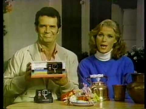 James Garner & Mariette Hartley for Polaroid