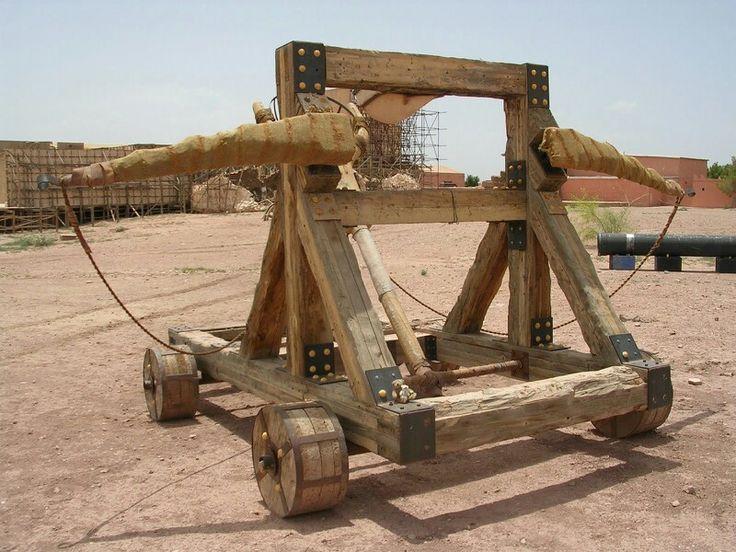 67 best images about Roman Catapult - Ballista - Trabucco ...