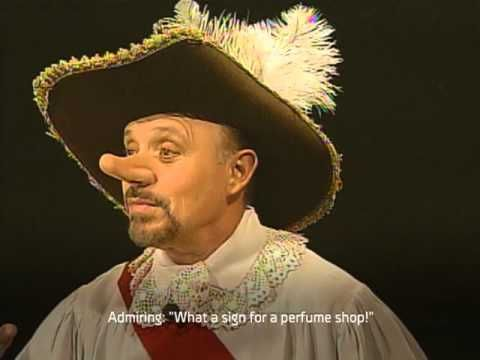 an analysis of the character of cyrano de bergerac Character profiles cyrano de bergerac cyrano is a brilliant poet, swordsman, philosopher, and musician courageous, honorable, and witty, he is the hero of the play.