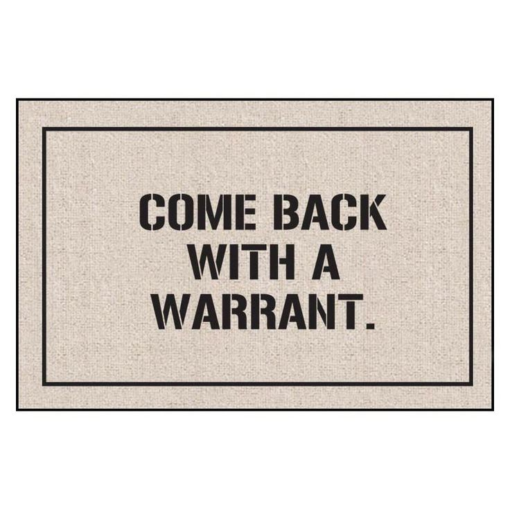 Come Back Indoor/Outdoor Doormat - M79