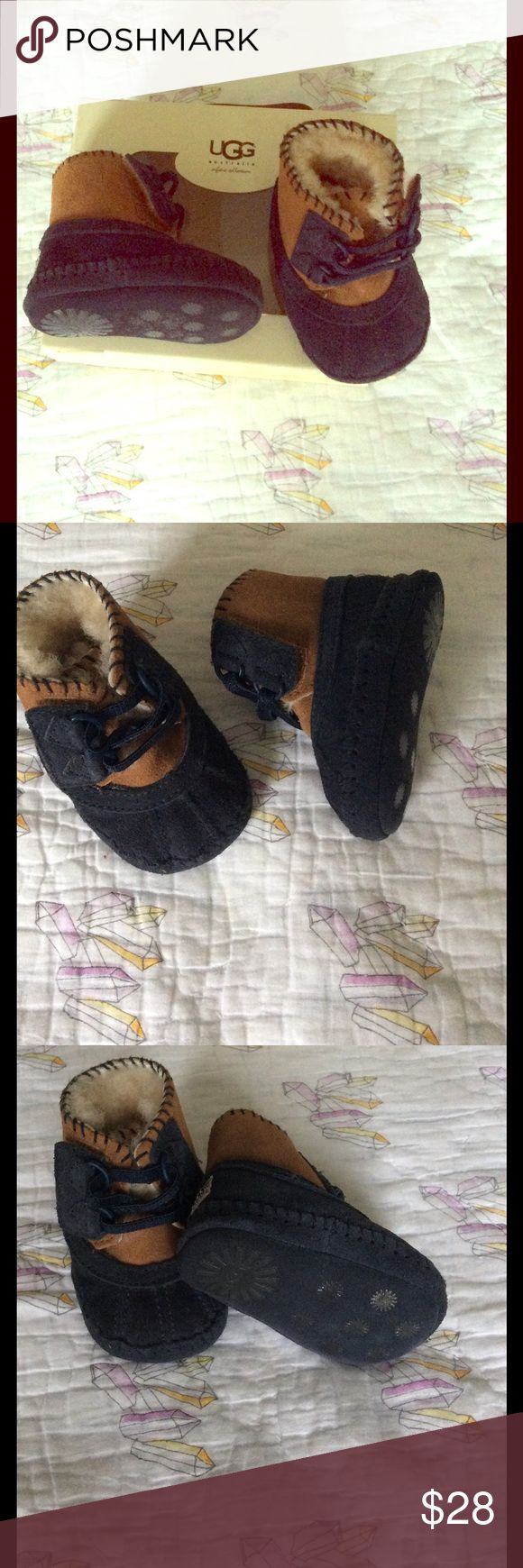 NWT 0-6 Ugg Baby Boots New with box baby Ugg boots, size 0-6 months, in excellent condition, retail was $70 UGG Shoes Boots