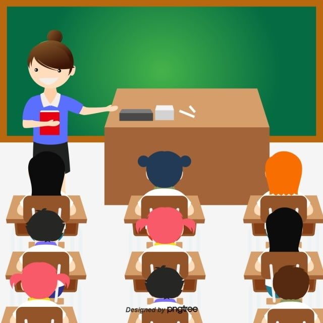 Classroom Illustration Classroom Clipart Classroom Attend Class Png And Vector With Transparent Background For Free Download Teachers Illustration Classroom Clipart Classroom