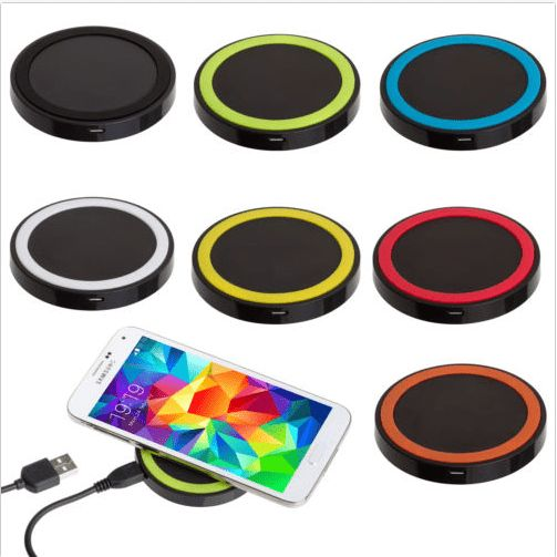 Qi Wireless Power Pad Charger Transmitter For Phone. Qi Wireless Power Pad Charger For  iPhone 5 5S 4 4S Samsung Galaxy S3 S4 S5 Note2 Note3 Nokia Lumia LG Nexus4    This Wireless charger for smartphones is under the Qi-standard.It is easy to charger your phone without cables,just put your   phone on the charging plate.  Positioning guide and LED charing indicator    Product details:  Compatibility:Nokia Lumia 920, 928 LG Nexus4                           Samsung Galaxy S4 i9500 (S4 Receiver…