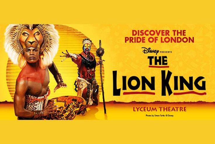 Discount Lion King Musical & Overnight London Stay for just £119.00 Enjoy an overnight stay in London at a centrally-located boutique hotel.   Stay at the glamorous My Chelsea or the fantastic My Bloomsbury.   Rest in a comfortable room with en-suite and Wi-Fi.  Plus get a ticket to see multi-award winning musical 'Lion King' at the Lyceum Theatre.  A spectacular Disney musical featuring the songs from the movie.   Perfect Christmas present for a musical theatre fan! BUY NOW for just £119.00