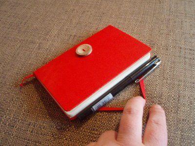 Moleskine pen holder