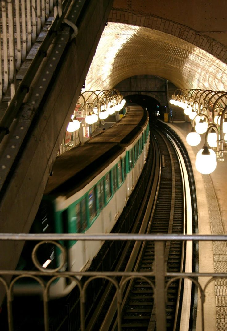 Paris metro - one of the most easily navigable subways in the world. Each stop is an experience of it's own.