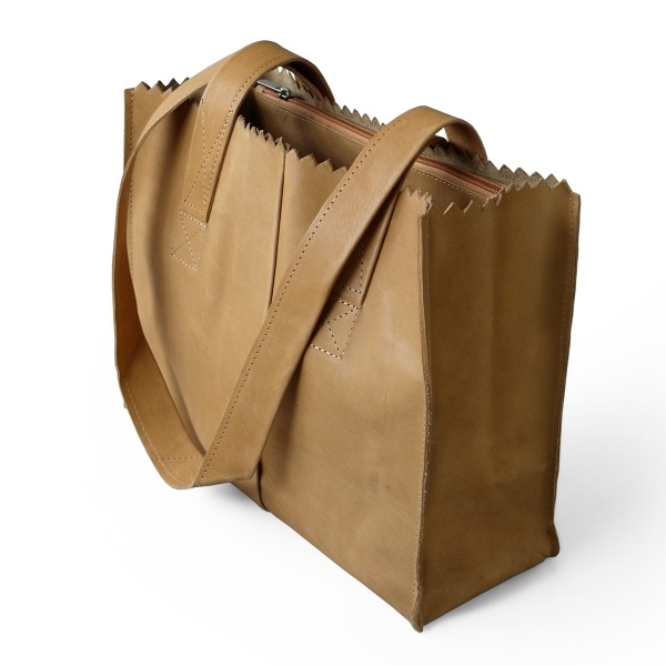 HandBag MyPaperBag Blond | Tassen | Twish.nl
