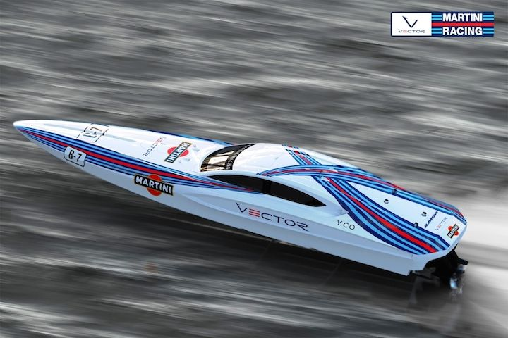 Martini Racing Boat is the Very Definition of Gorgeous - Boldride.com