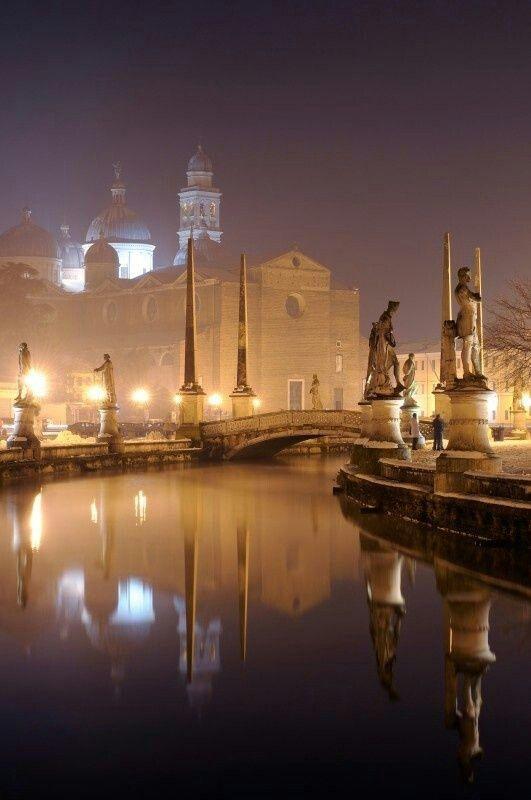 The city of Padua in the Veneto region