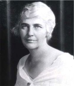 "Lou Hoover 1874-1944 ~ It is very possible to have both a home and a career, (for) in this modern age we are released from so many of the burdens our grandmothers and great-grandmothers had to bear.""~~Herbert Hoover's wife was the first woman to graduate from Stanford University with a geology degree. She also spoke Chinese fluently."