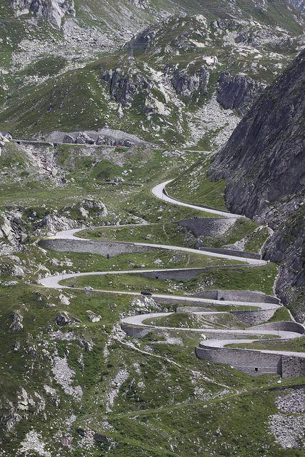 Gotthard Pass (UR/TI), Switzerland