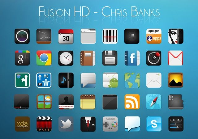 Fusion HD Android Icons
