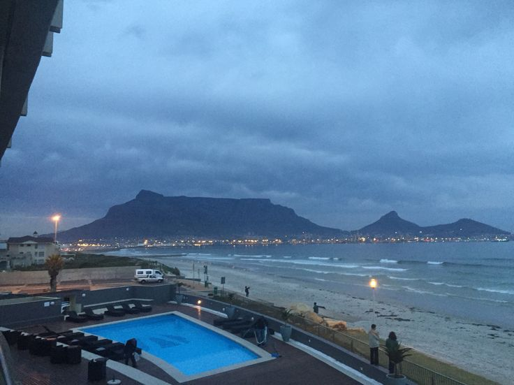 Just before sunrise. Cape Town.