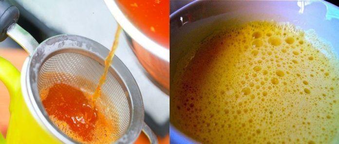 Пейте чай с куркумой, чтобы улучшить функцию печени, устранить токсины и обновить клетки!