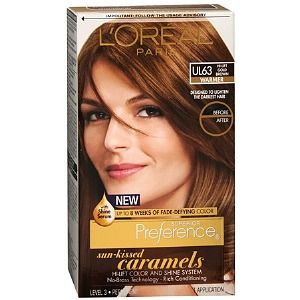 5.3 loreal golden brown | Tinta Loreal preference Caramels