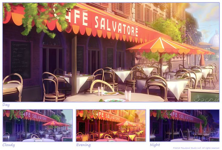 EH: Cafe by ~owen-c on deviantART