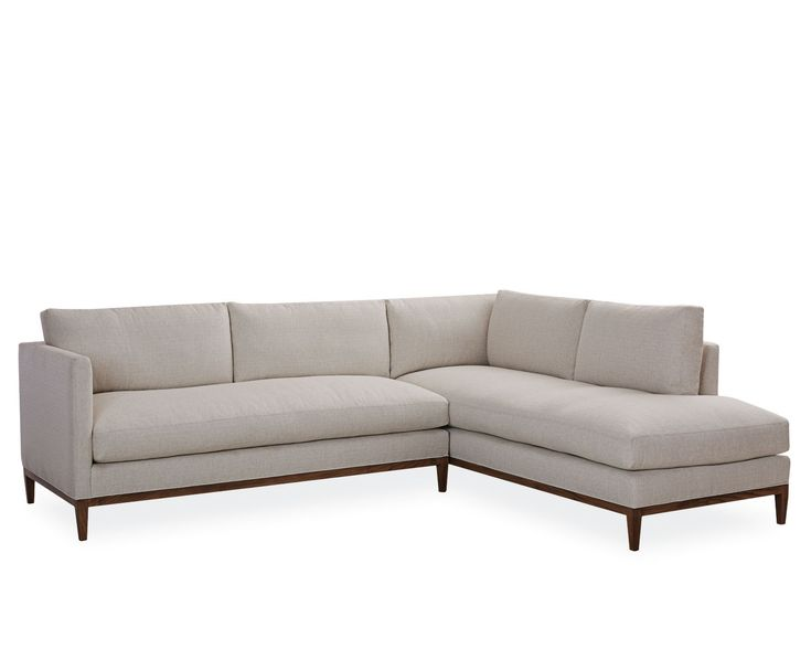 Palm Springs Chaise Sectional  sc 1 st  Pinterest : lee sectionals - Sectionals, Sofas & Couches