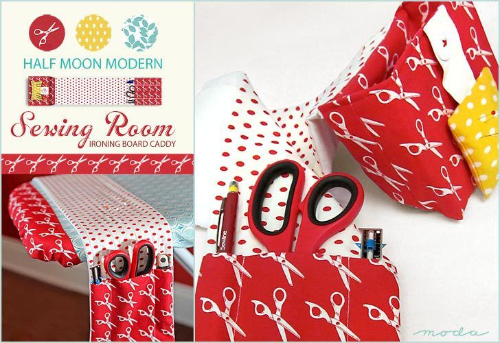 ironing board caddy tutorial by Sew4Home - Sewtorial