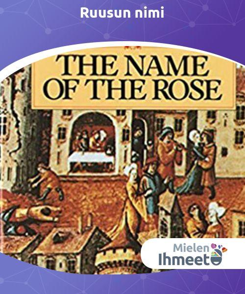 Ruusun nimi   #Ruusun nimi #Umberto Econ luoma #etsiväromaani, joka antaa #lukijalle kuvan pimeän ja kylmän keskiajan tavoista ja perinteistä.
