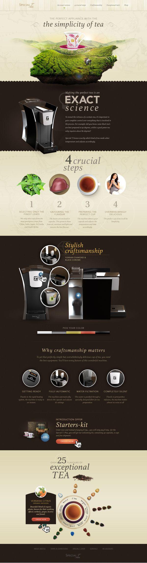 Special-Tea - Redesign by Michiel Andrea, via Behance