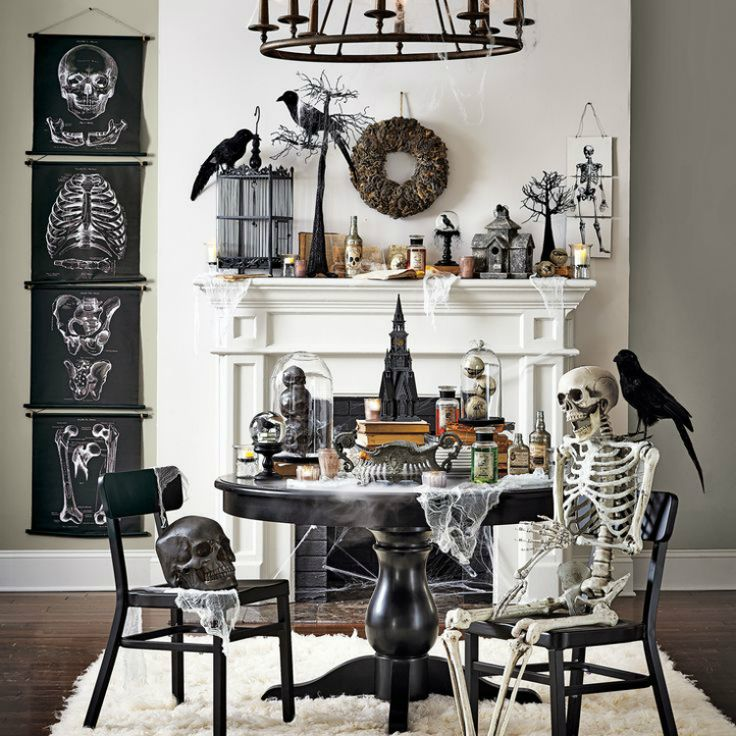 How To Decorate A Living Room For Halloween: 77 Best Images About Halloween On Pinterest