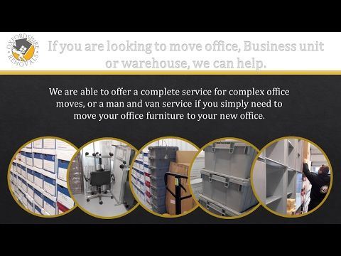 Office Removals Oxford - YouTube