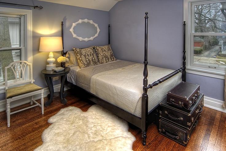 Black Painted bedroom furniture