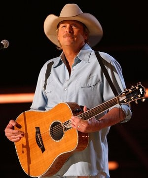 "Alan Jackson performs ""The Fireman"" at the 2009 George Strait: ACM Artist of the Decade All Star Concert in Las Vegas. Photo credit: Getty Images/Courtesy of the Academy of Country Music & Dick Clark Productions."