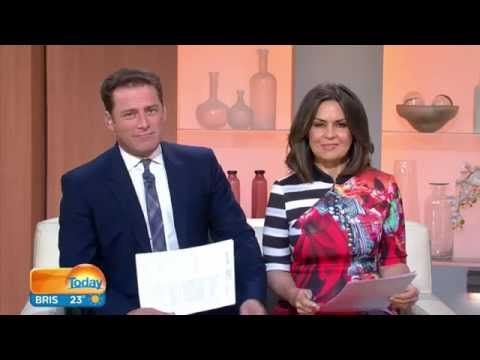 "KARL STEFANOVIC ABSOLUTELY LOST IT OVER LISA WILKINSON'S BEARD ""IN HER GENES"" - YouTube"