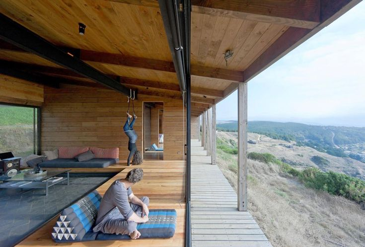 weekend cabin, espinoza house, chile wmr