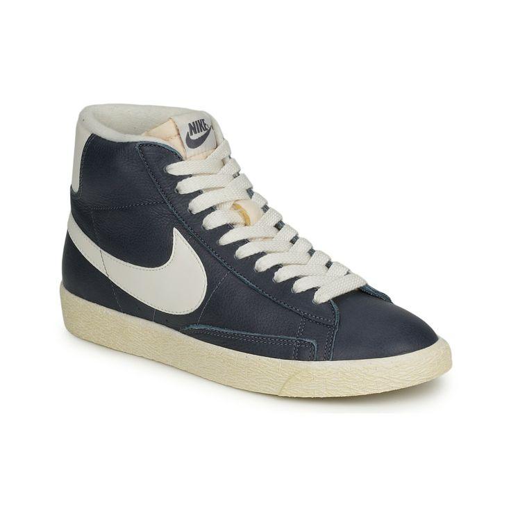 cheap for discount 121dc f82ab ... Chaussures Femme Nike BLAZR MID - achat de chaussures en ligne,  boutique chaussure pas cher Nike Blazer Mid Suede Vintage Womens Shoe.