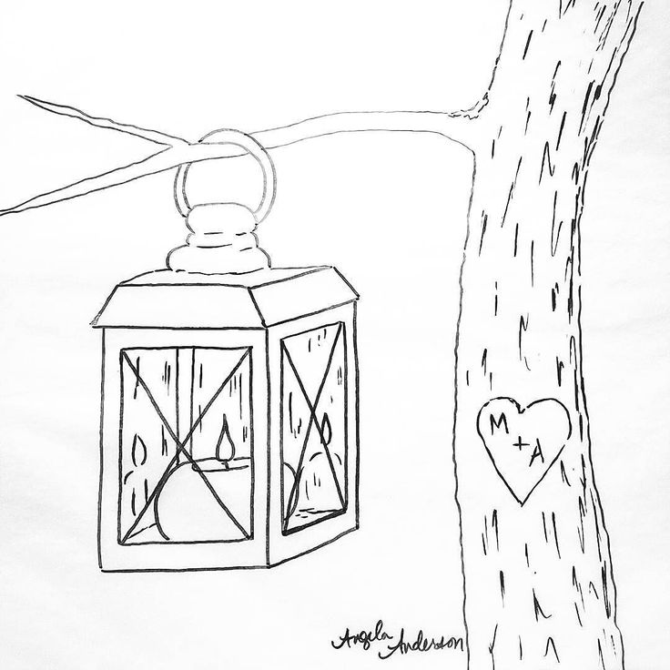 Candle Lantern Acrylic Painting Tutorial on #Youtube Free Traceable Coloring Sheet