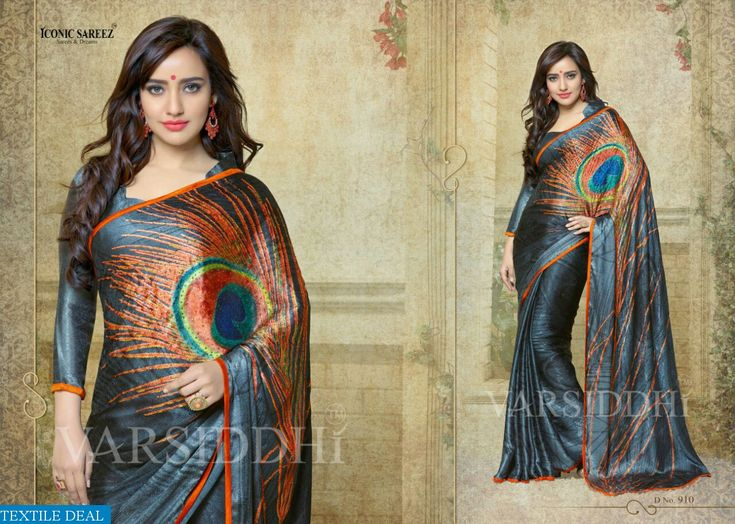 Buy Now #Varsiddhi Wholesale Present Iconic Printed #SareesCollection at Wholesale Rate from @textiledeals Surat, India