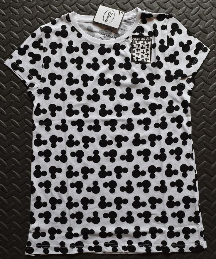 primark mickey mouse t shirt disney womens ladies front