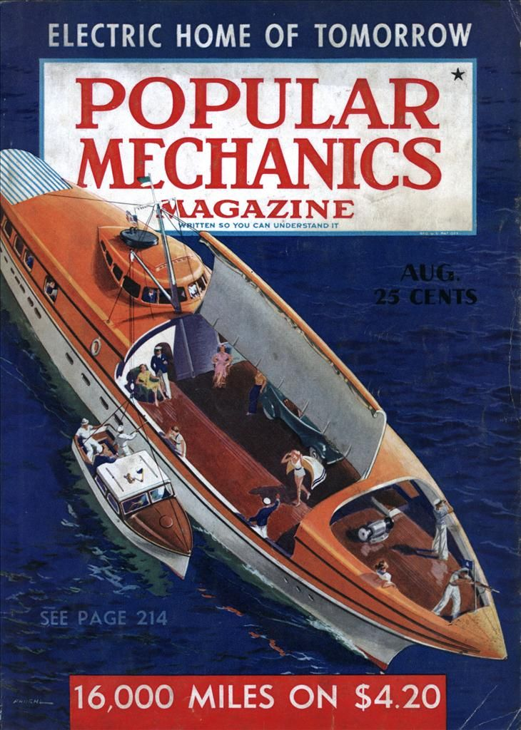 Popular Mechanics | Issue: Aug, 1939