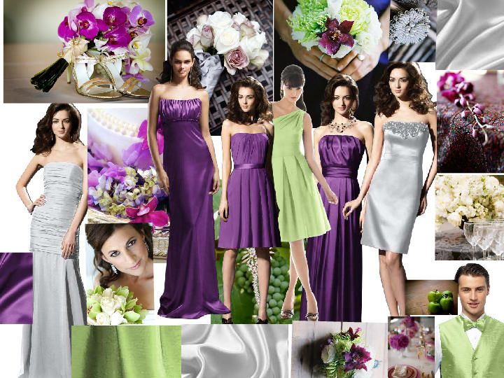 Color Schemes : PANTONE WEDDING Styleboard : The Dessy Group