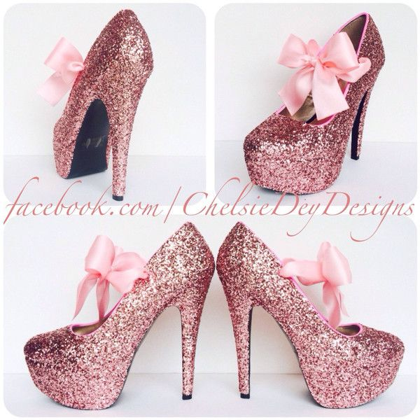 Glitter High Heels Pink Pumps Bubblegum Light Pink Platform Shoes... ($70) ❤ liked on Polyvore featuring shoes, pumps, silver, women's shoes, platform pumps, pink high heel pumps, high heel platform pumps, pink pumps and silver pumps