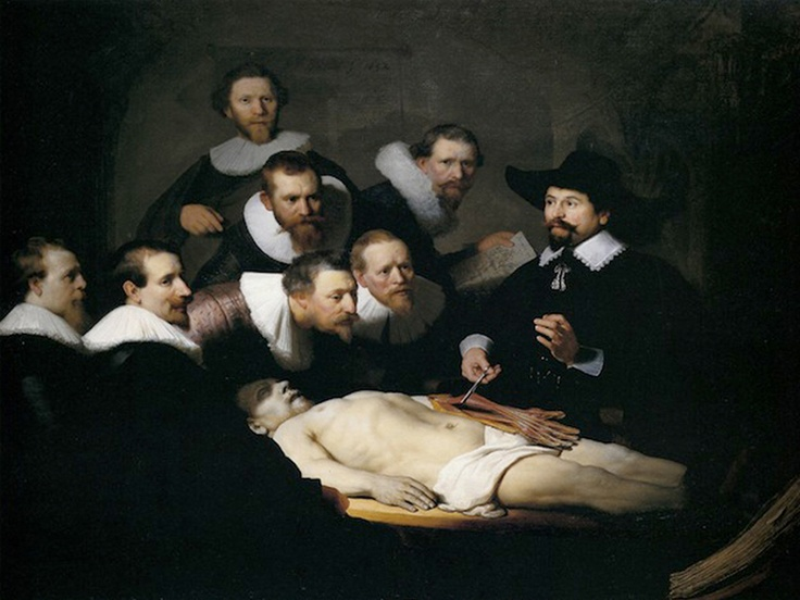 "Rembrand ""The Anatomy Lesson of Dr. Nicolaes Tulp"""