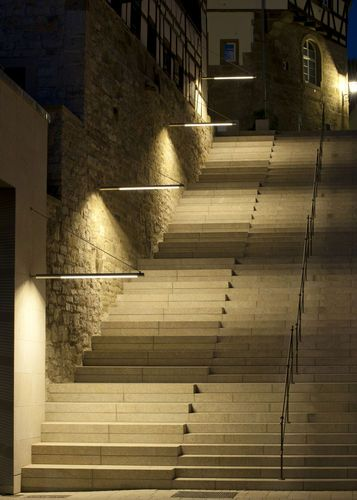 Exterior wall light for public spaces FIACCOLA WALL LIGHT TYPE 141 LECCOR