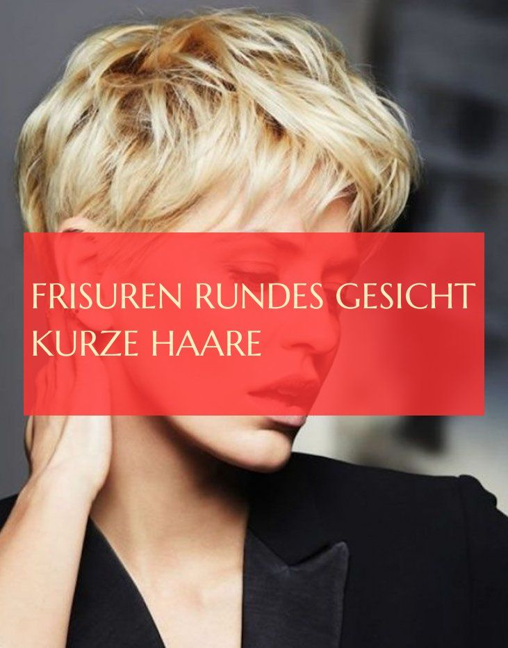 frisuren rundes gesicht kurze haare – #frisuren #r…